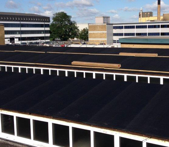 Waterproofing Commercial properties - RESITRIX EPDM Membranes